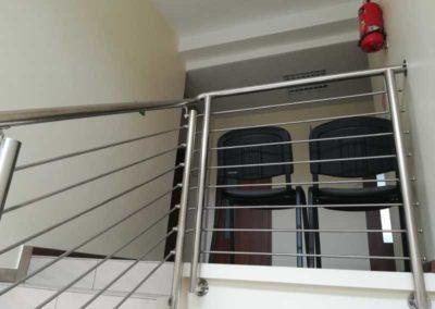 Balustrada stlowa dla spółdzielni