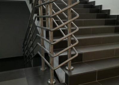Balustrada klatki schodowej