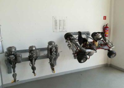Konstrukcja nośna silników zaburtowych
