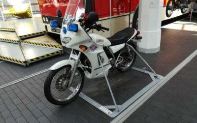 Podwieszenie i Podstawy dla motocykli w Muzeum Techniki i Komunikacji