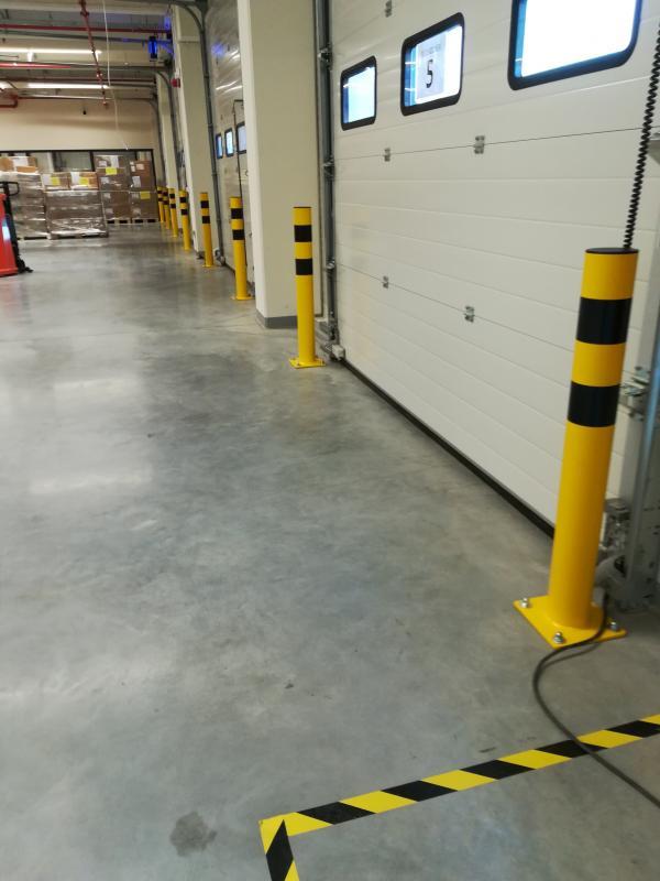 Wykonanie i instalacja odbojnic rurowych pionowych