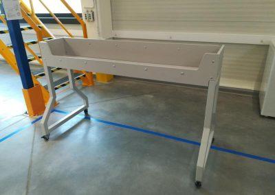 Mobilna nadstawka nad stół stanowiska pakowania