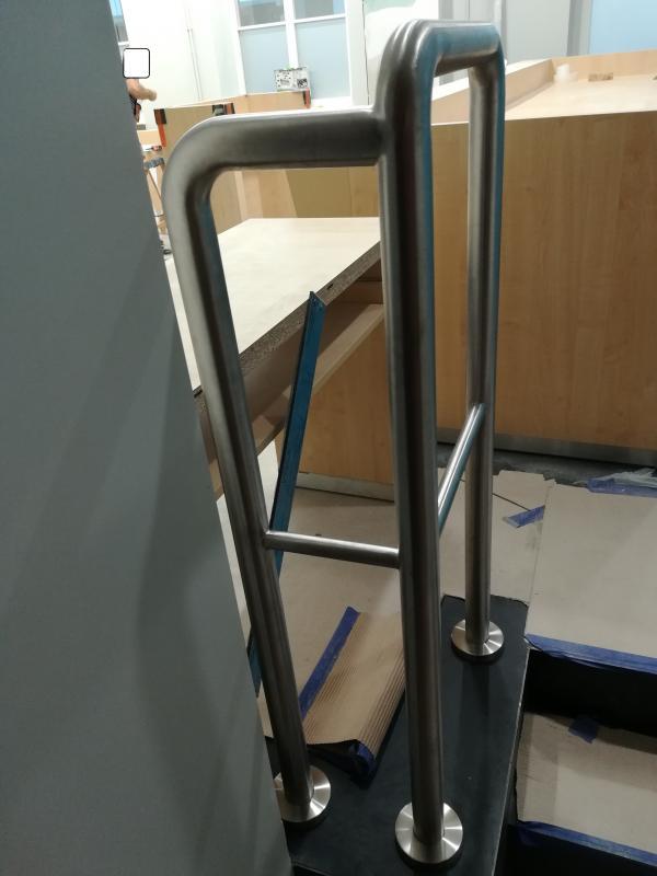 Zabezpieczenie - balustrada nierdzewna